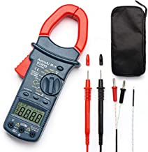 AstroAI Digital Clamp Meter, TRMS 6000 Counts Multimeter Volt Meter with Manual and Auto Ranging; Measures Voltage Tester,...
