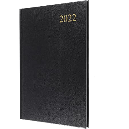 Collins Essential A5 Week to View 2022 Diary - Black