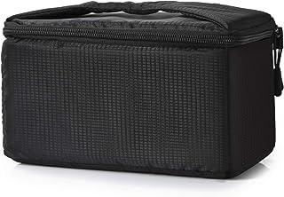Koolertron Kamera Schutztasche,wasserdichte Stoßfest Gepolsterte Partition SLR Kameratasche für Sony Canon Nikon DSLR Schwarz