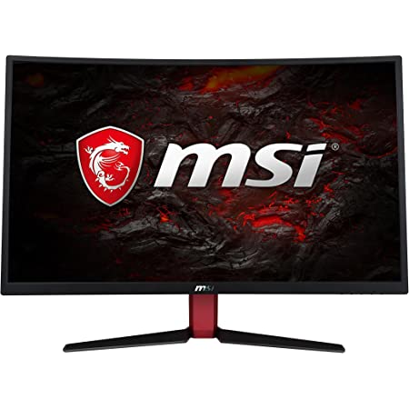MSI Optix G27C2 27 Inch 1ms 144Hz Full HD Curved Gaming Monitor with Adaptive AMD Free Sync and Wide LED Anti-Glare Screen 1920 x 1080p