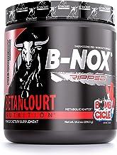 Betancourt Nutrition B-NOX Ripped Pre-Workout Formula, Keto-Friendly, Endurance Builder, Powder, 287g (30 Servings), Bombcicle