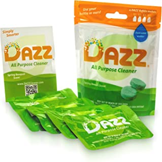 Dazz Natural Cleaning Tablets - All Purpose Cleaner Refill Pack