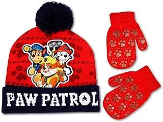 Nickelodeon Paw Patrol 3-Piece Gloves, Beanie Hat & Scarf Set