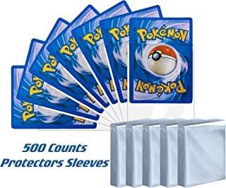 500 Card Sleeves, Top Loaders Penny Sleeves for Trading Cards, Card Protectors Fit for Pokemon, YuGiOh!, MTG, Baseball and...