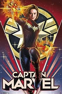 Trends International MCU - Captain Marvel - Heroic Wall Poster, 22.375
