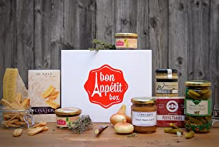 Gourmet French Chic Gift Basket - Paris Aperitif Box