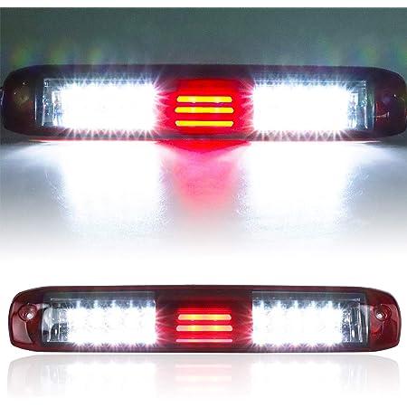 For 2007-13 Chevy Silverado GMC Sierra 1500 2500HD 3500HD Smoke LED 3rd Brake Light Cargo Lamp Assembly