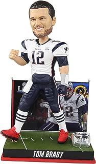 FOCO Tom Brady New England Patriots 6th Super Bowl Win Bobblehead NFL
