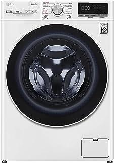 LG F4WV510S0E Machine à laver à charge frontale, 10,5 kg, 1400 tr/min, Wi-Fi, Intelligence artificielle AI DD, Vapeur dési...