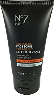 Boots No7 Men Energising Face Scrub, 5 fl oz - 2pc