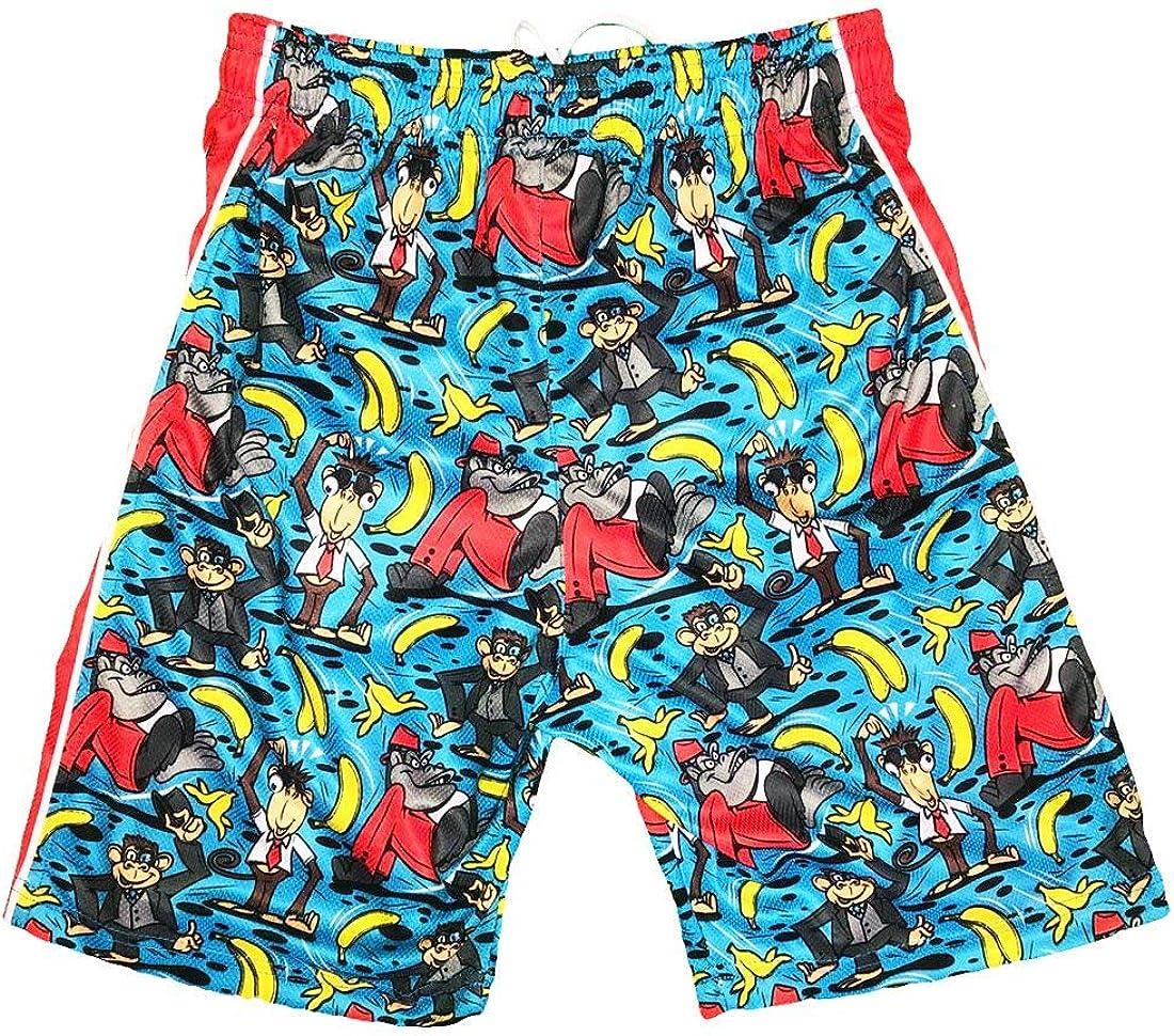 Flow Society Boys' Monkey Suit Boys Athletic Shorts - Boys Shorts - Gym Shorts