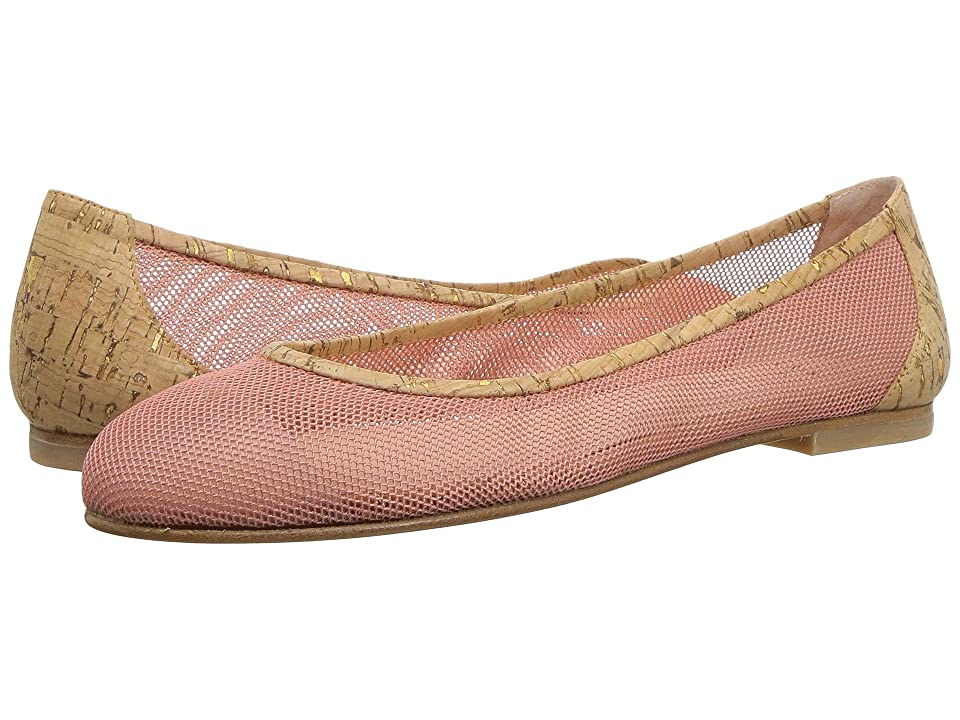 French Sole Bravo (Rose Gold Mesh Cork) Women