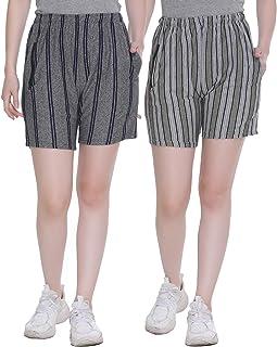 SHAUN Women Short (107WS2_P$_Pack of 2)