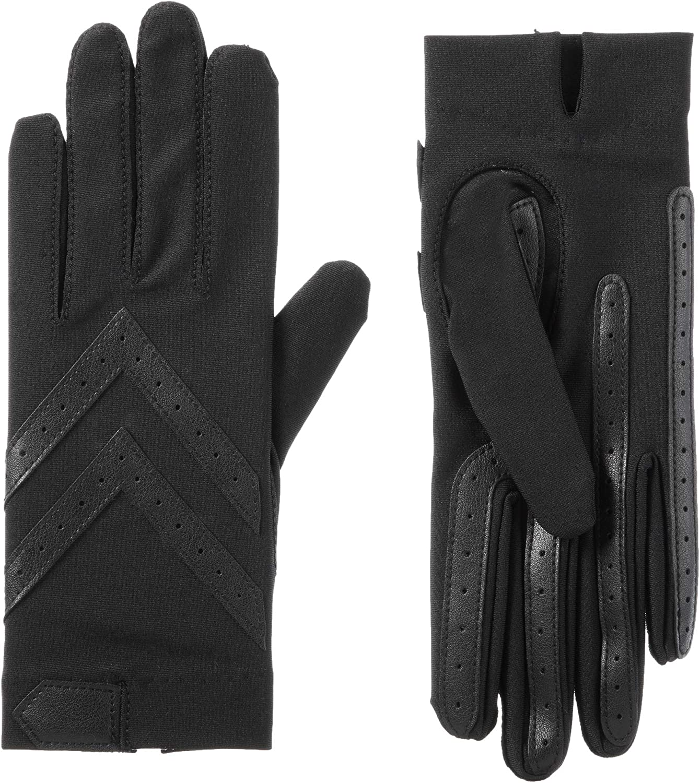 isotoner Women's Spandex Shortie Touchscreen Gloves