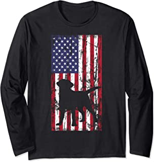 Labrador Retriever Tshirt Labzilla Gift Puppy Lab Dog Tee Long Sleeve T-Shirt