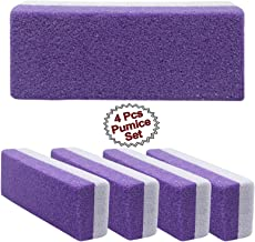 Wall2Wall Dual Sided Callus Buffing Pumice Bar Extra Coarse Pedicure Foot Pad Buffer (4)