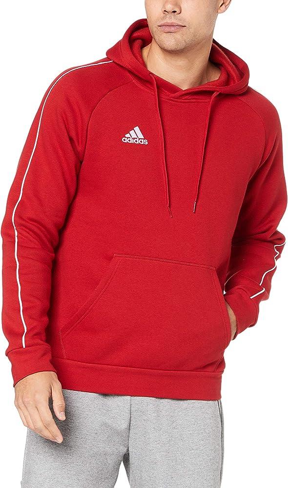 Adidas,felpa per uomo con capuccio,in 70% cotone, 30% poliestere CV3332
