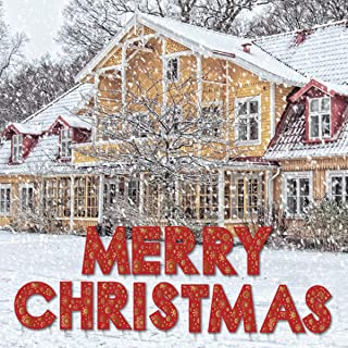 Vencer Merry Christmas Yard Sign with 28 Metal Stakes,Outdoor Lawn Display and Christmas Party Sign