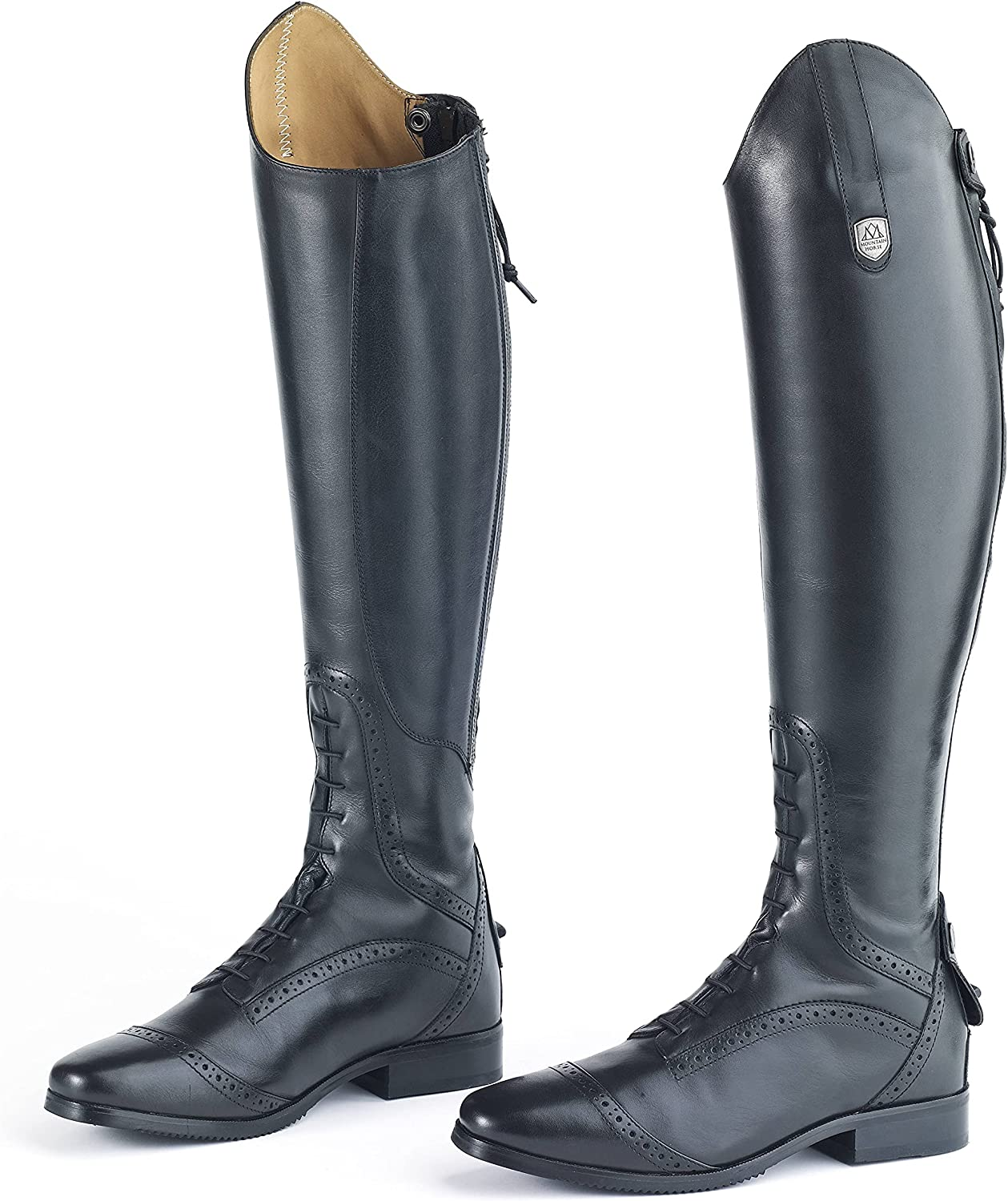 MTN Horse Ladies Superior Field Black Tall Free Max 48% OFF shipping New Boot 7 Slim
