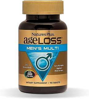 NaturesPlus AgeLoss Men's Multivitamin - 90 Vegetarian Tablets - Free Radical Defense, Healthy Immune Function & Anti-Infl...