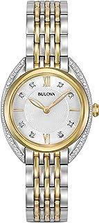 Bulova - Curv - Reloj solo tiempo para mujer, elegante, cód. 98R229