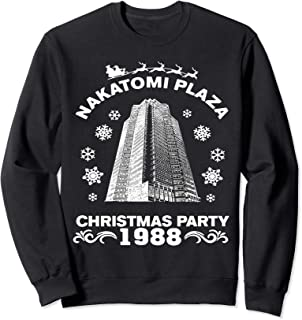 Nakatomi Plaza Christmas Party 1988 Men Boy Pop Culture Sweatshirt