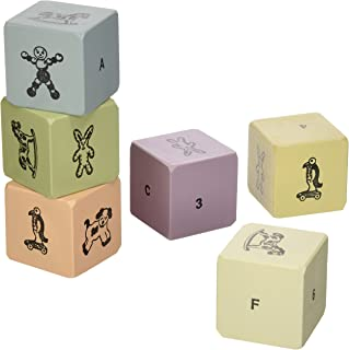 Tree By Kerri Lee Wooden Blocks Set, Pastels