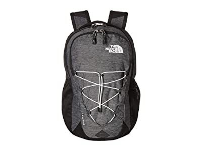The North Face Jester Backpack (TNF Black Heather/TNF White) Backpack Bags