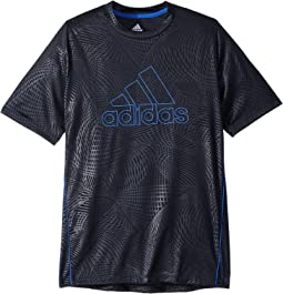 adidas Kids - Embossed Net Training Top (Big Kids)