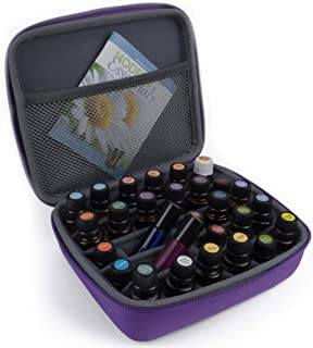Essential Oils Storage - Essential Oil Case Holds 30 Bottles. Best for 10 15 ml and Roller Bottles. Highest Quality Carrying Travel Cases. Organizer Holder Accessories for Young Living & Doterra Oils