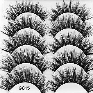 Newkelly 3D Eyelash Imitation Mink Natural Thick False Eyelash 5 Pairs