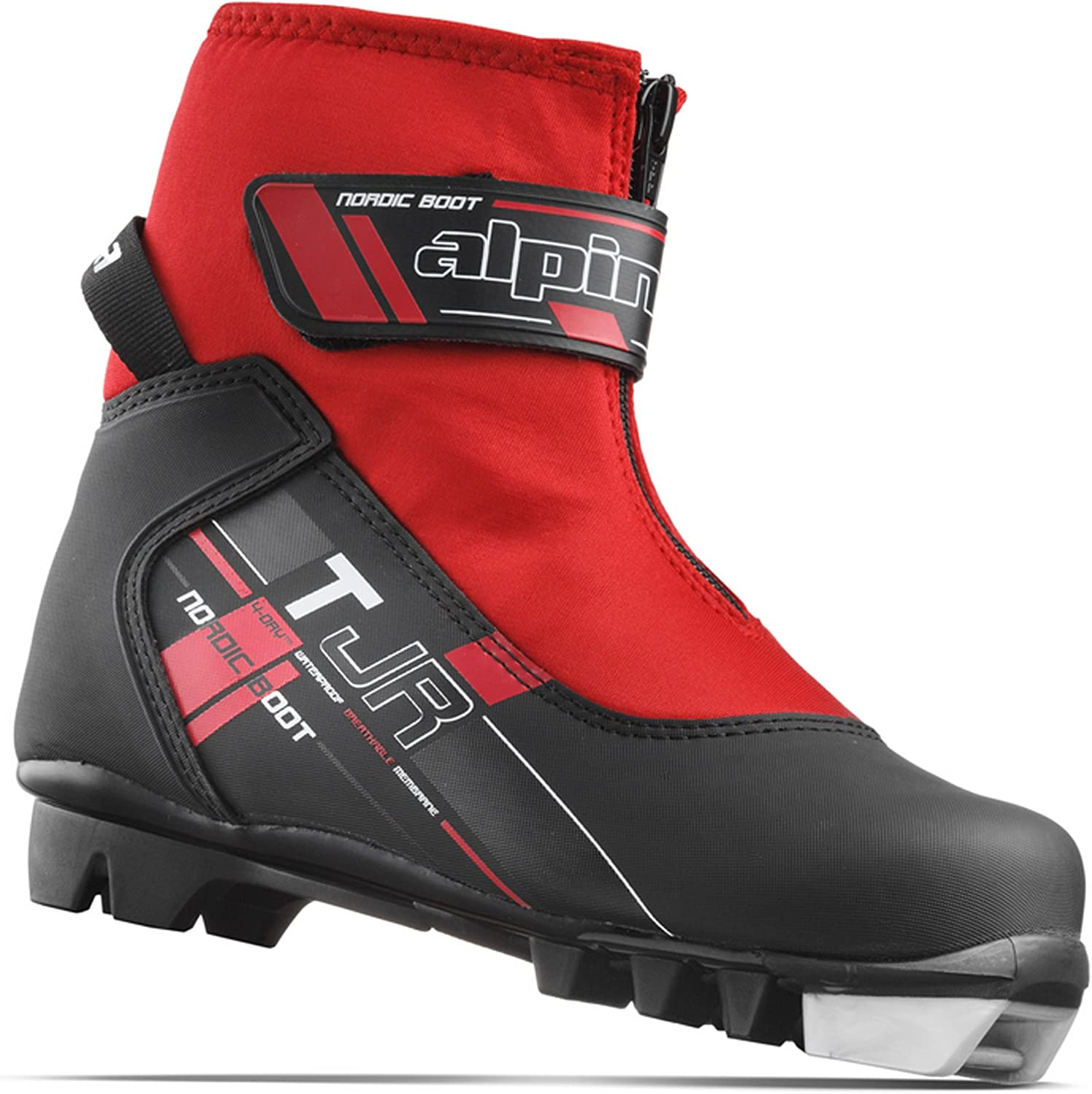 Alpina Sports Youth Max 47% OFF TJ Touring Ski ! Super beauty product restock quality top! Boots Strap with L Zippered