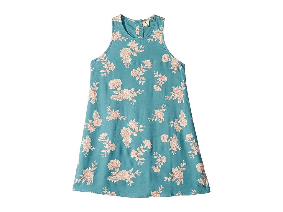 Roxy Kids Better Day Dress (Big Kids) (Brittany Blue Eglantine) Girl