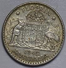 1942 AU AU0024 Australia Florin vintage DE PO-01