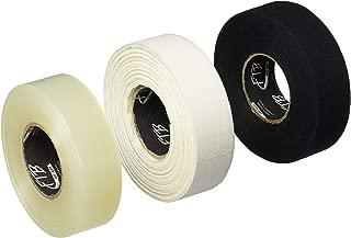 FTB Multipack Hockey Tape - 3 Pack - White, Black & Clear