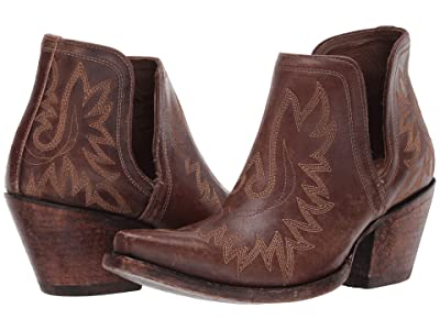 Ariat Dixon (Naturally Distressed Brown) Cowboy Boots