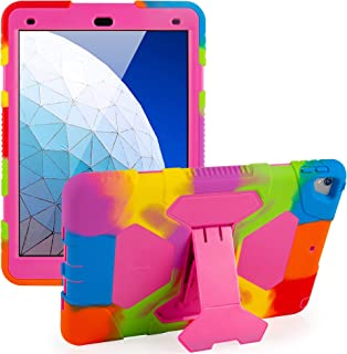 ACEGUARDER iPad Air 3 Case iPad Air 10.5 Case, iPad Pro 10.5 Case 2017 Shockproof Impact Resistant Kids Protective Cover w...