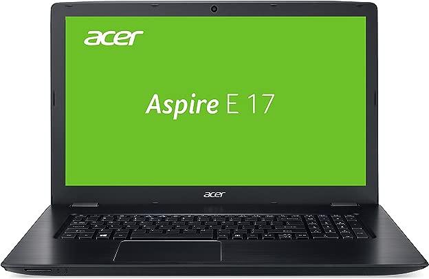Acer Aspire 17 E5-774G-54KZ 43 94 cm 17 3 Zoll HD Laptop Intel Core i5-7200U 8GB RAM 128GB SSD 1 000GB HDD GeForce 940MX Win 10 Home schwarz Schätzpreis : 320,00 €