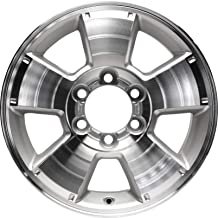 Partsynergy Replacement For New Aluminum Alloy Wheel Rim 17 Inch Fits 05-15 Toyota Tacoma 5 Spokes 6-139.7mm