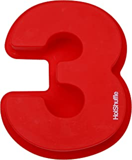 Large Silicone Number Cake Mould Baking Birthday Anniversary 0 1 2 3 4 5 6 7 8 9