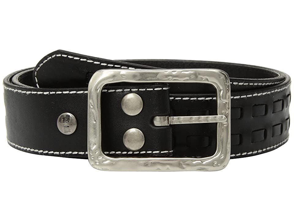Bed Stu Ross (Black Rustic/White BFS) Belts