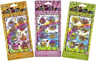 Sushi, Food, Travel Liquid Chopstixers [3-Pack Bundle]: Fashion Angels Sticker Series
