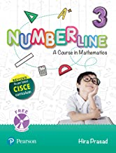 Number Line (Maths) | ICSE Class Third | Revised First Edition as per latest CISCE curriculum | By Pearson