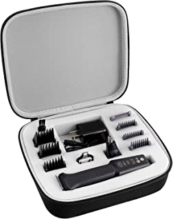 GWCASE Case Compatible with Philips Norelco Multigroom Series 3000 5000 7000 MG3750 MG5750/49 MG7750/49, Storage Holder fits for Men's Grooming Kit with Trimmer Accessories(Box Only)