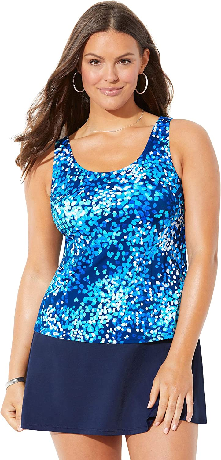 Mail order cheap Swimsuits For All Women's Max 81% OFF Plus Size Ski with Tankini Set Classic