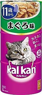 カルカン ハンディ缶 高齢猫用 11歳から まぐろ 160g×3缶×18個 [キャットフード]