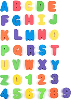 Tadpoles ABC 36 Piece Bath Letters in Mesh Bag, Multi, One-Size