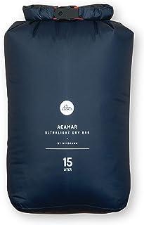 NORDKAMM Dry-Bag, Trockensack, 5l, 10l, 15l oder Set, Ultra-Light, blau