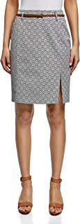 Collection Women's Straight Belted Skirt