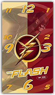 Sernast Exclusive Clock Flash (Superhero) – Unique Item for Home and Office, Original Present for Every Occasion.